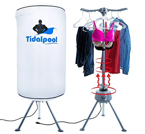 tidalpool-portable-clothes-dryer-1200w-electric-mini-compact-22lb-capacity-laundry-drying-rack-with-