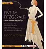 img - for Five by Fitzgerald: Classic Stories of the Jazz Age (CD-Audio) - Common book / textbook / text book