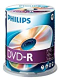 Philips DM4S6B00F - 100 x DVD-R - 4.7 GB ( 120min ) 16x - spindle - storage media