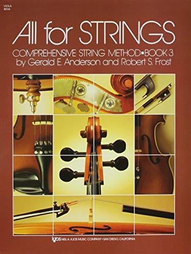 80VA - All For Strings Book 3: Viola