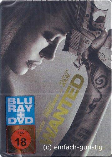Wanted (Steelbook) DVD + Blu-Ray