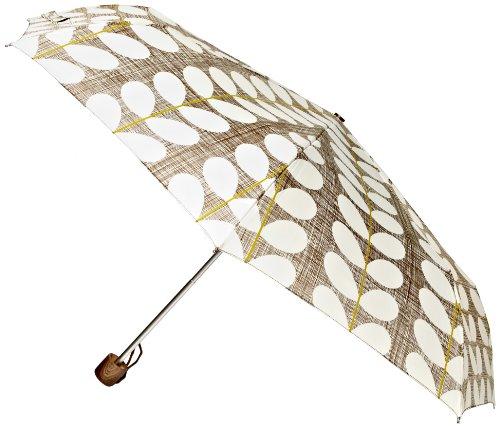 Orla Kiely by Fulton Orla Minilite 2 Cross Hatch Stem Brown Women's Umbrella