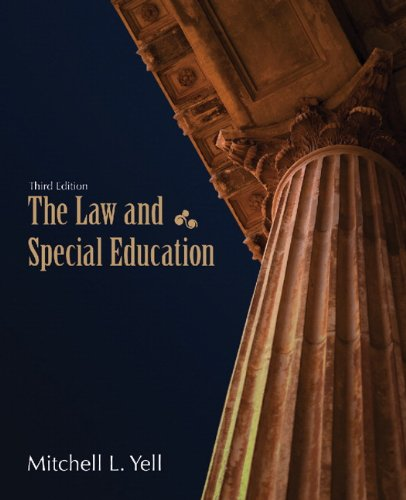 The Law and Special Education (3rd Edition)