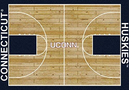 Conneticut Huskies Milliken NCAA Home Court Area Rug (10'9