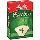 80 Count Bamboo Filters Size: 4