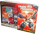 TRANSFORMERS 25TH ANNIVERSARY G1 RE-ISSUE OPTIMUS PRIME with DVD and COMIC