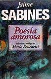 Poesia amorosa (Spanish Edition)