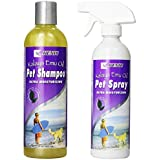 Dog Shampoo For Itchy Skin And Dog Anti Itch Spray Set - All Natural Emu Oil Is Hypoallergenic And Moisturizing...
