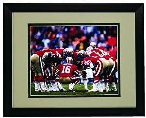 San Francisco 49er Joe Montana Framed 8x 10 Photo by Champion