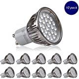 10 X Realm 5W Gu10 super bright LED spotlight Non Dimmable bulb 380lm LED spot light 50W Halogen Equivalent Cool White 6000K