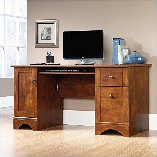 sauder-computer-desk-brushed-maple-finish