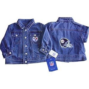 Toddler Pittsburgh Steelers NFL Reebok Denim Jacket from Reebok