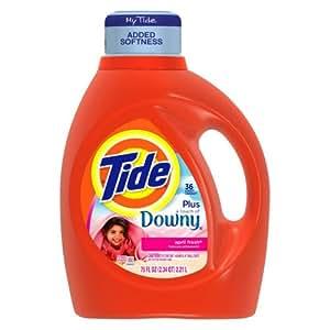 Amazon Com Tide Detergent Liquid Laundry With Downy April