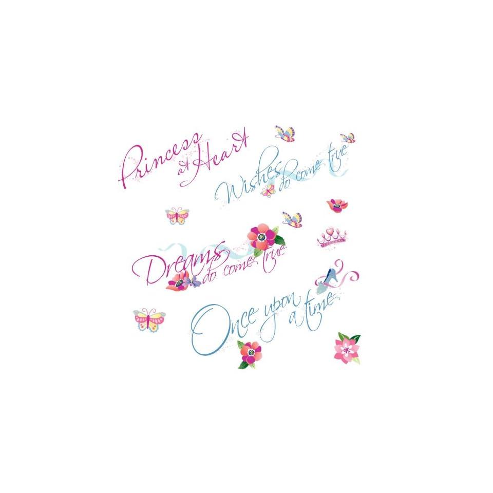 RoomMates RMK1521SCS Disney Princess Quotes Peel & Stick Wall Decals