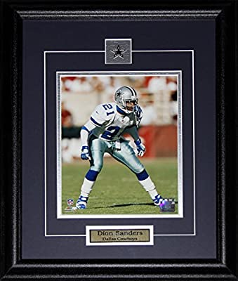 Dion Sanders Dallas Cowboys 8x10 frame