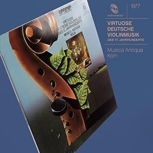 Virtuoso German String Music of XVII Century