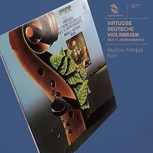 Musique allemande virtuose pour violon du XVIIe siècle