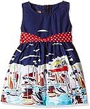 Little Kangaroos Girls' Dress (11521_Navy_XX-Large)