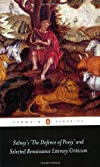 Sidney's The Defence of Poesy' and Selected Renaissance Literary Criticism (Penguin Classics)