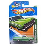 HOT WHEELS TREASURE HUNT 2012 EDITION #12 OF 15 1965 FORD RANCHERO DIE-CAST, '65 FORD RANCHERO TREASURE HUNT