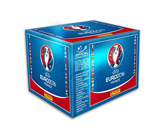 Panini - UEFA EURO 2016 - Sticker Box - 100 X 5 = 500 Sticker