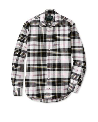 Gitman Vintage Men's Plaid Oxford Button-Up Shirt