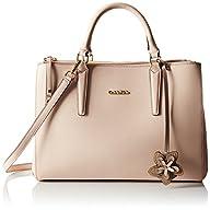 Calvin Klein Saffiano Satchel Bag, In…