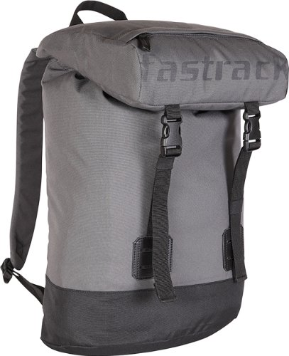 Fastrack 23 ltrs Graphite Grey and Black Casual Backpack (A0508NGY01) (multicolor)