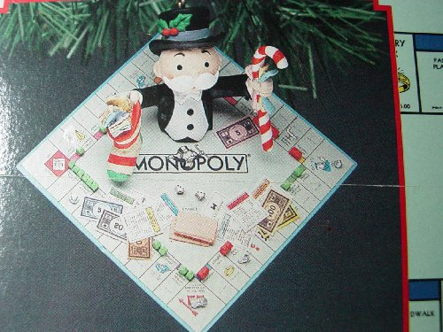 Monopoly board game Christmas ornament