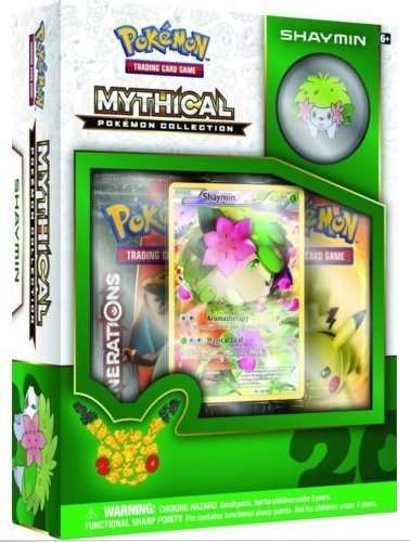 Pokemon-SHAYMIN-Mythical-Collection-Generations-Booster-Packs-Box-Set-2-booster-packs-promos