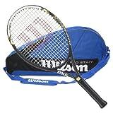 Wilson Hyper Hammer 5.3 Strung Tennis Racquet with 3 Racquet Bag by Wilson