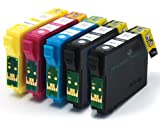 5 Compatible Printer Ink Cartridges fit Epson Stylus SX535WD