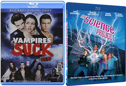 My Science Project + Vampires Suck Blu Ray Comedy Spoof Set