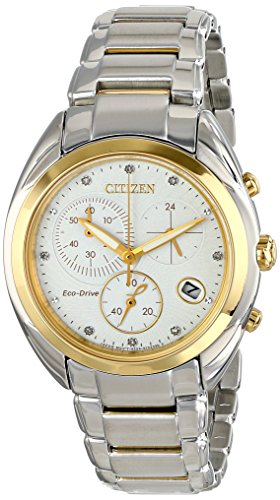 Citizen Eco-Drive Celestial Chronograph Stainless Steel - Two-Tone Women's watch #FB1394-52A