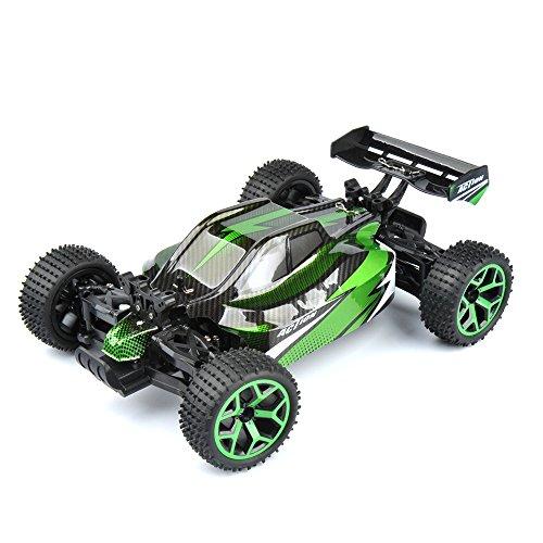 GizmoVine-RC-Auto-4WD-Hochgeschwindigkeit-118-24Ghz-Ferngesteuerter-Racing-Buggy-Car-Spielzeug-Fahrzeug-mit-aufladbaren-Batterien-Grn