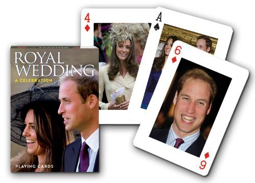 Piatnik Royal Wedding Unique Singles Playing Cards by Piatnik