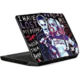 Skinit Harley Quinn Madly in Love Alienware 13in Skin - Officially Licensed Warner Bros Laptop Decal - Ultra Thin, Lightweight Vinyl Decal Protection (Color: Black, Tamaño: Large)