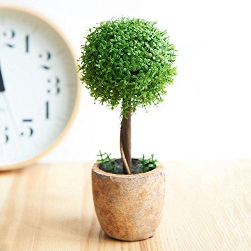 人工観葉植物 光触媒 トピアリー ボール お世話のいらない 癒しの グリーン キッチン リビング に置くだけで 癒しの 空間 を創りだす インテリア グリーン Topiary Ball