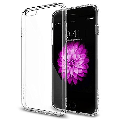iPhone 6 Plus ケース, Spigen® [ クリア バンパー] ウルトラ・ハイブリッド Apple iPhone (5.5) アイフォン 6 プラス カバー (国内正規品) (クリスタル・クリア SGP10900)