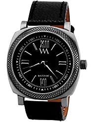 WATCH ME BLACK BROWN LEATHER ANALOG WATCH FOR MEN AND BOYS AWMAL-079-B