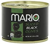 Mario Camacho Sliced Black Olives comes in a 2.25 ounce pack. Our Black Olives offer a consistent taste and standard size for easy portion control. The rich color and plump appearance add flavor and visual appeal to any meal. Offered in various cuts, our black olives come ready to serve in any recipe from sliced to chopped to pitted varieties. All of our products are inspected at our dock doors by receiving personnel, as well as our QA department, before storage or use. Each delivery is inspected and weighed. Drums of raw material come in sealed containers and are tested for contaminants. On the production line, we follow a HACCP (Hazard Analysis Critical Control Point) procedure establishing several critical control points for inspection. All products are date coded and lot coded to localize any potential problem.