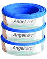 Angelcare Nappy Disposal System Refill Cassettes (Pack of 3)