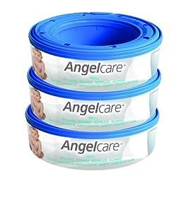 Angelcare - 2003 - Pack de 3 Recharges pour Poubelle à Couches