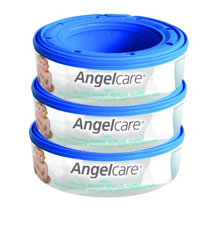 Nappy Disposal System Refill Cassettes (pack Of 3) By Angelcare