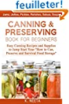 Canning and Preserving Book for Begin...