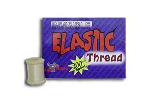 Invisible Magic Elastic Thread - 200' Reel