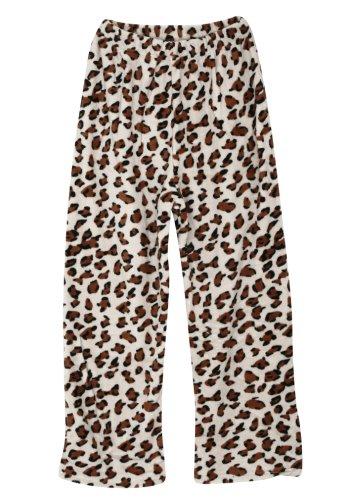 Ililily Pattern Print Elastic Waist Sleepwear Boxercraft Comfort Lounging Pants (015-1)