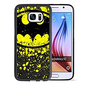 Samsung Galaxy S7 Case, Onelee Customized Batman [Anti Slip] Black TPU and PC Samsung Galaxy S7 Case, [Drop Protection] Batman Galaxy S7 Case at Gotham City Store