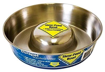 OurPets Premium DuraPet Slow Feed Dog Bowl