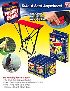 The Amazing Pocket Chair Portable Seat